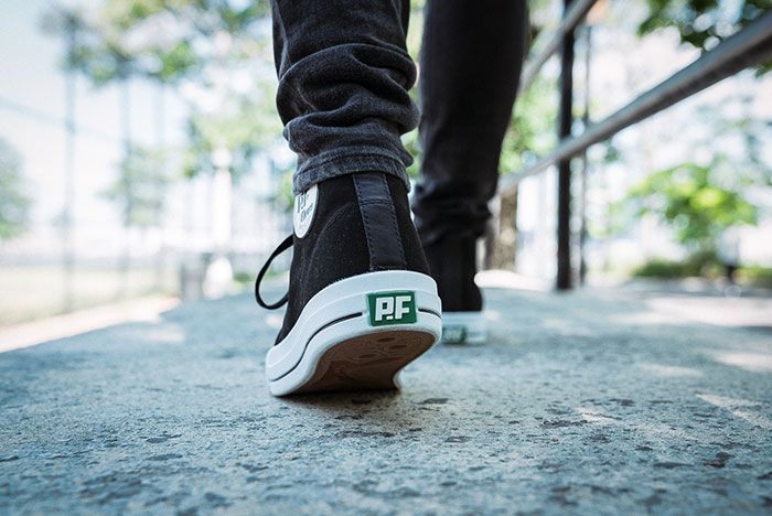 Pf Flyers Made In Use Centre Hi Black 5