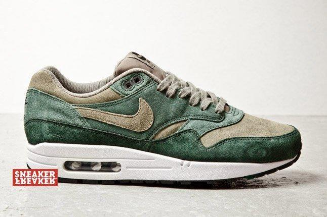 Nike Air Max 1 Suede Grn 1 1