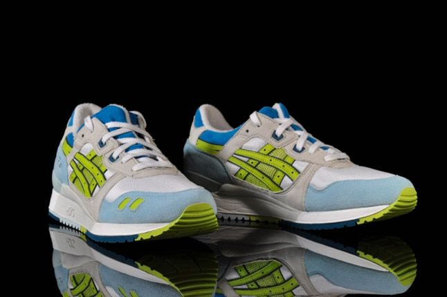 Asics Lady Gel Lyte Iii White Lime 1