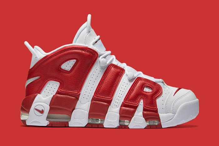 Nike Air Uptempo Red 1