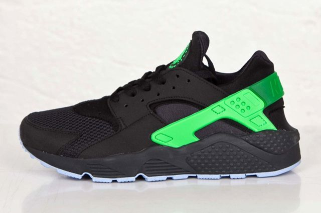 Nike Huarache Fb Poison Green 2
