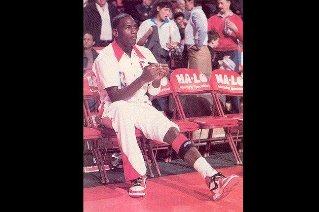 Jordan Knee Hurt 1