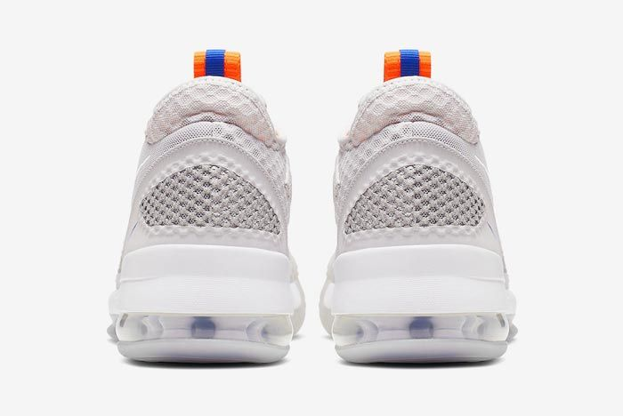 Nike Air Force Max Low Greys Blue Orange Heels