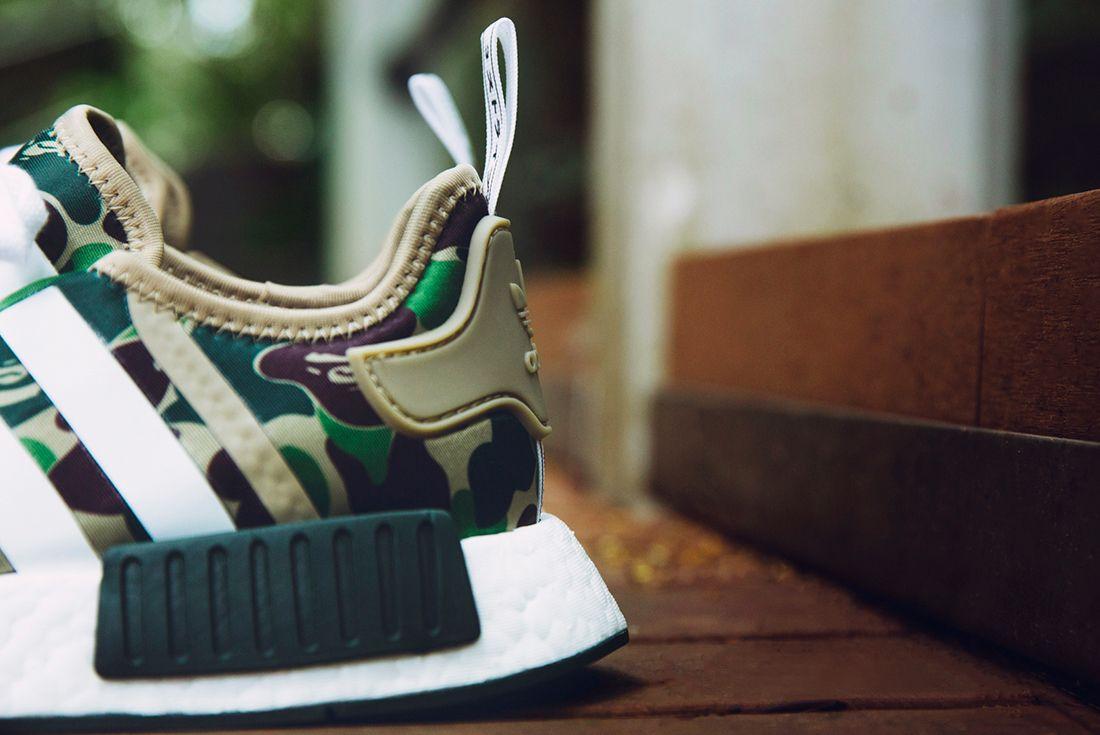 Bape X Adidas Nmd R1 Camo Pack13