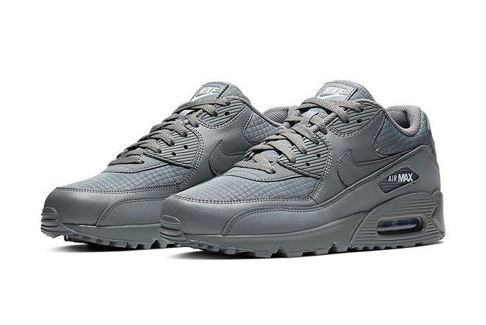 Nike Air Max 90 Essential Cool Grey Pair