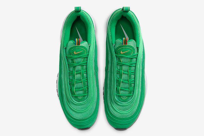 Nike Air Max 97 Lucky Green Ci3708 300 Top