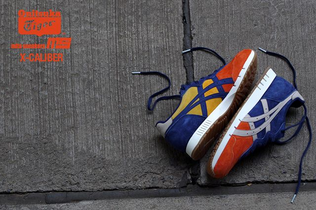 Mita Sneakers Onitsuka Tiger X Caliber Tequila Sunrise 6
