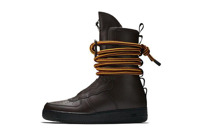 Nike Sf Af1 High Baroque Brown 2