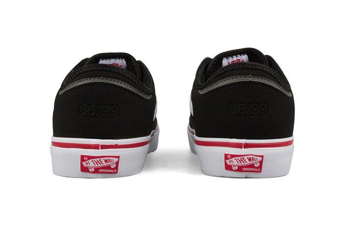 Vans Vault Rowley Classic Lx Black Red 2 Sneaker Freaker