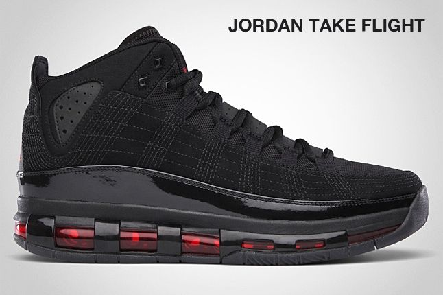Jordan Take Flight Black 2