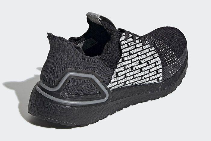 Adidas Neighborhood Ultra Boost 19 Fu7312 Rear Angle