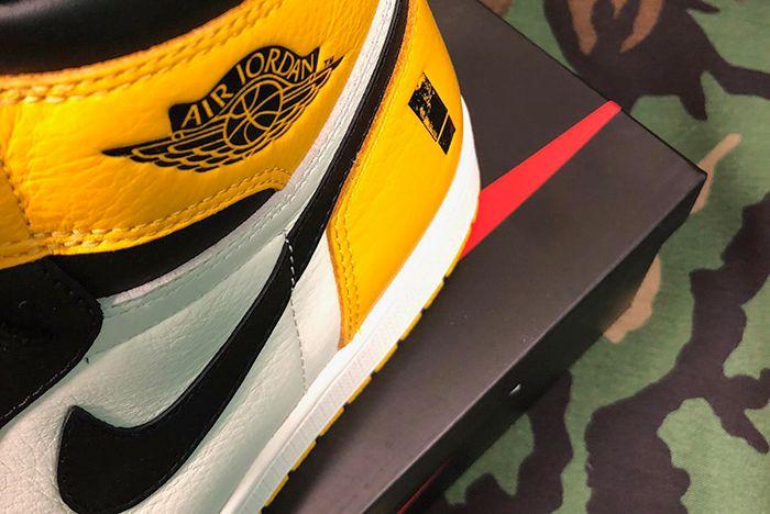 Shinedown Air Jordan 1 Attention Attention Heel Sneaker Freaker