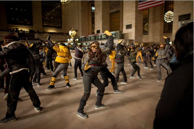 Moncler Native Flashmob 3 1