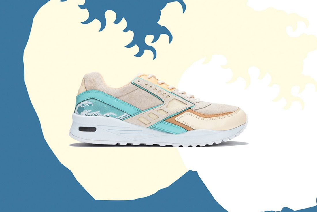 Pink Dolphin Brooks Regent Great Wave 5