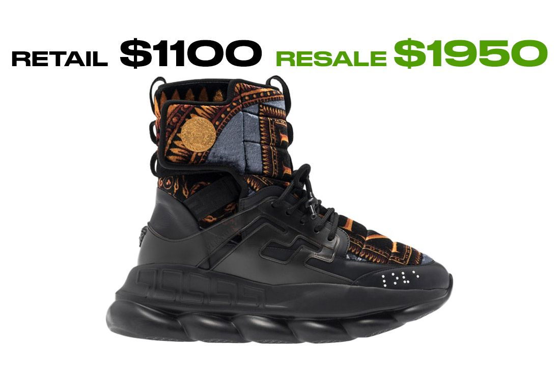 Versace Chain Reaction High X Kith Right Hand Side