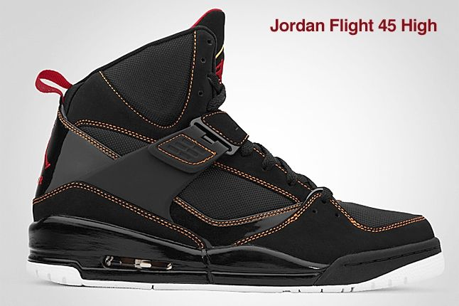 Jordan Flight 45 Hi Black 1