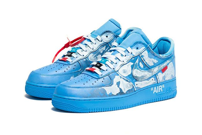 Nike Air Force 1 Off White Mca Cass Front Angle