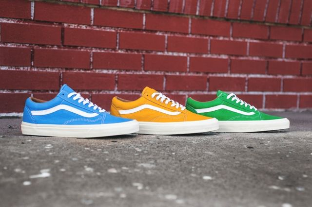 Vans Old Skool Classic Leather Pack 7