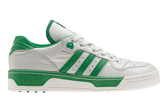 Adidas Originals Rivalry Pack Low Wht Green Profile 1