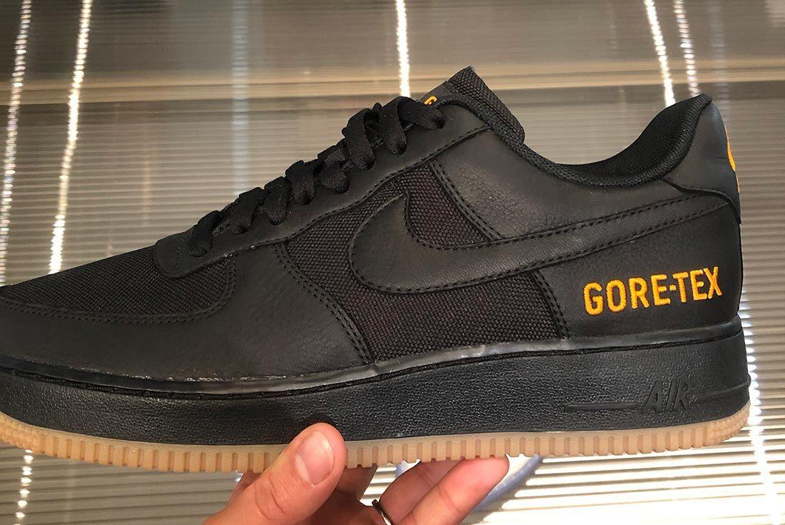 Nike Air Force 1 Gore Tex Black Gum