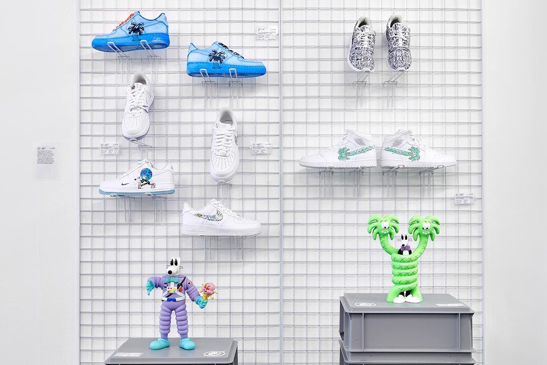Mudac Sneaker Colab Af1