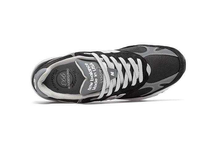 New Balance 993 Black Top