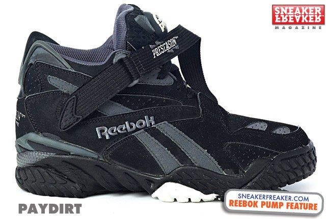 Reebok Pump Paydirt Black 1