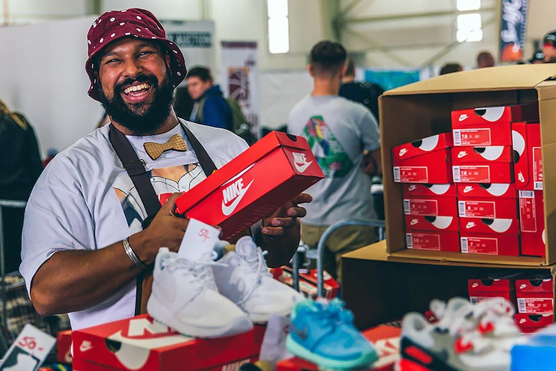 Sneakerness Cologne Man Smiling