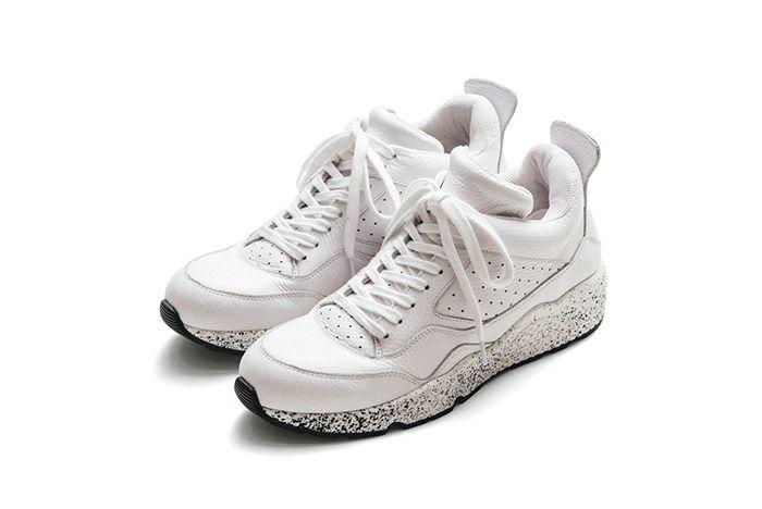 Iniform Experiment Amb Mid Sneaker White 1