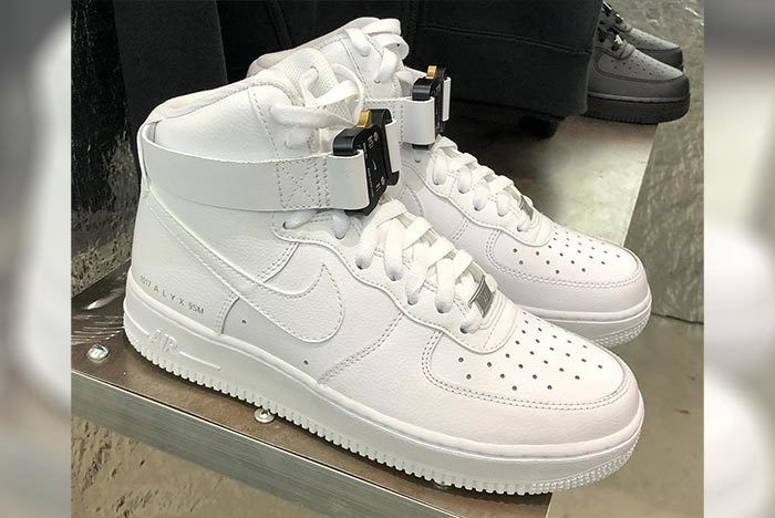 Alyx Nike Air Force 1 High White