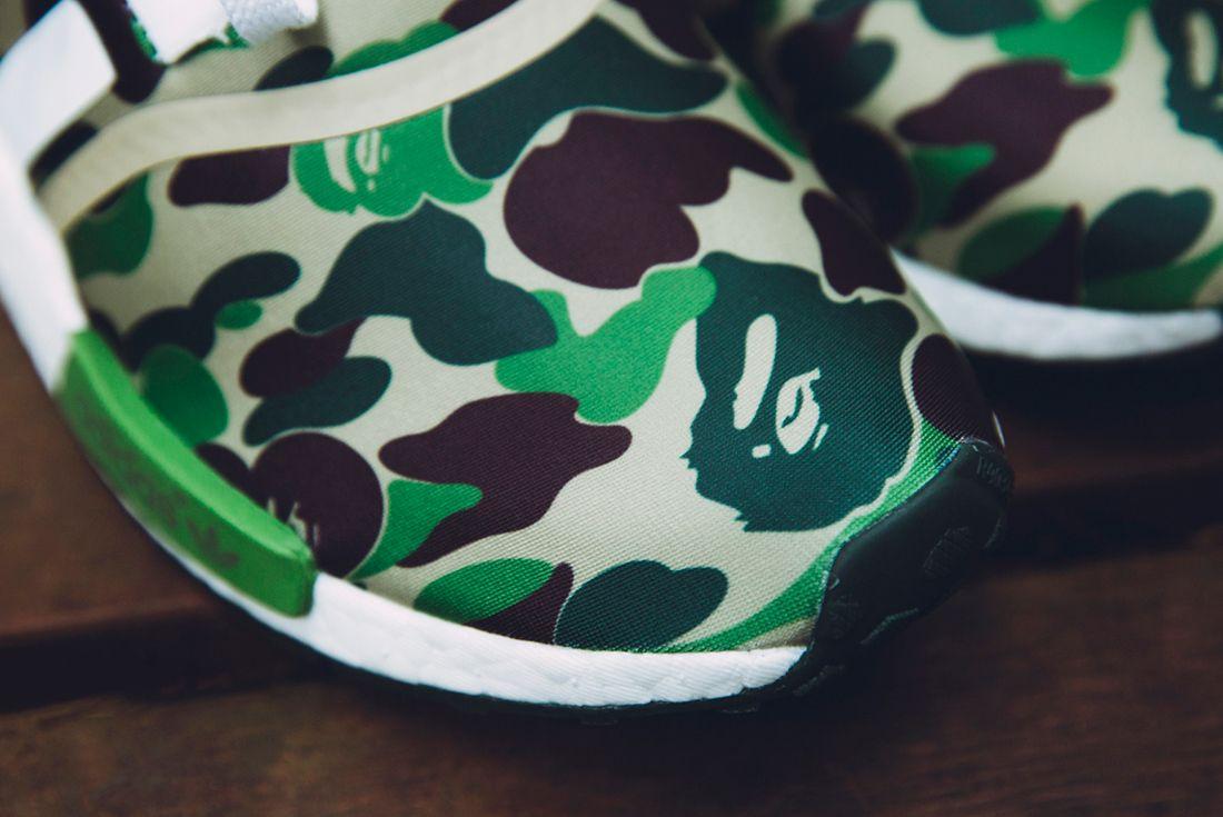 Bape X Adidas Nmd R1 Camo Pack15