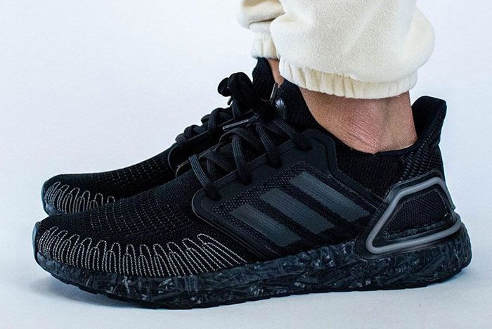 James Bond 007 Adidas Ultra Boost On Foot Lateral Side Shot