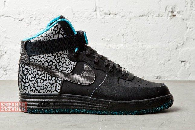 Nike Lunar Force 1 Ns Hi Prm Black Black 3