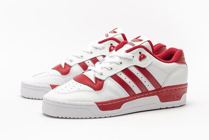 Adidas Rivalry Low White Red Ee4967 Front Angle