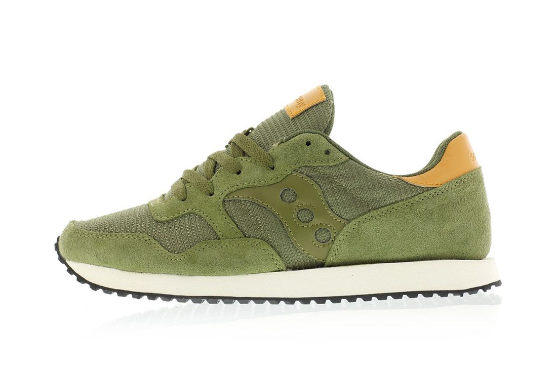 Saucony Dxn Trainer Olive Green 2