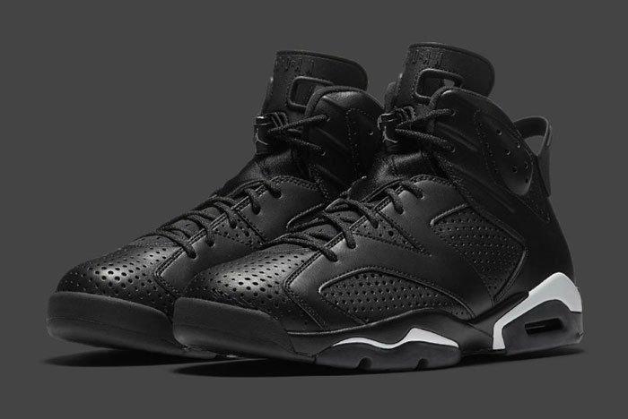 Air Jordan 6 Black Catfeature