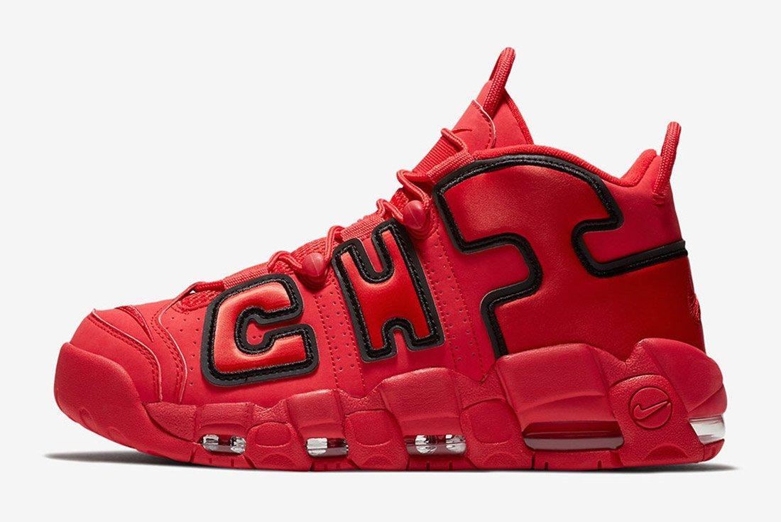 Nike Air More Uptempo Chicago 6