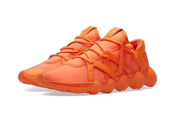 Adidas Y3 Kyujo Low Orange 1