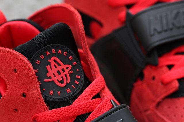 Nike Air Trainer Huarache Red Black 4