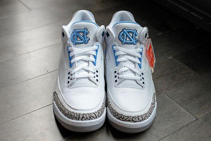 Air Jordan 3 College Pe Set 4 Sneaker Freaker