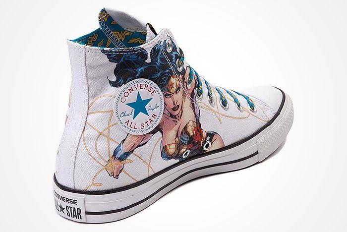 Dc Comics X Converse Chuck Taylor All Star ' Wonder Woman' 2012 Present3