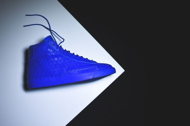 Nike Blazer Mid Metric Royal Blue Bumper 1