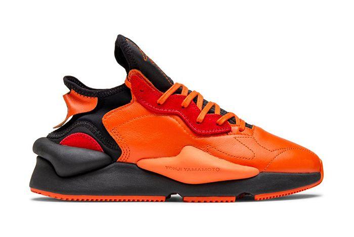 Adidas Y 3 Kaiwa Orange Black Right
