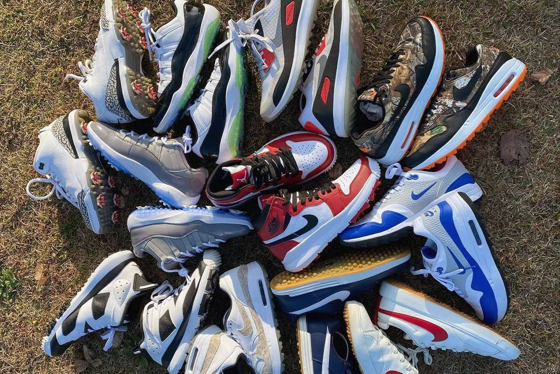 golf sneaker collection