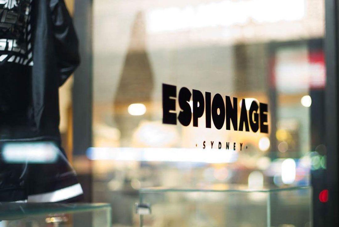 Espionage Sydney Front