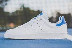 Adidas Stan Smith Vulc White Royal Thumb