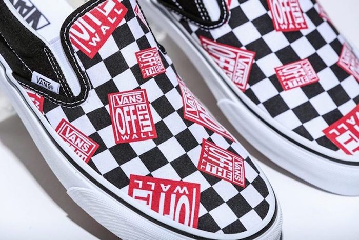 Billys Vans Slip On Off The Wall Check Release Date 1 Sneaker Freaker
