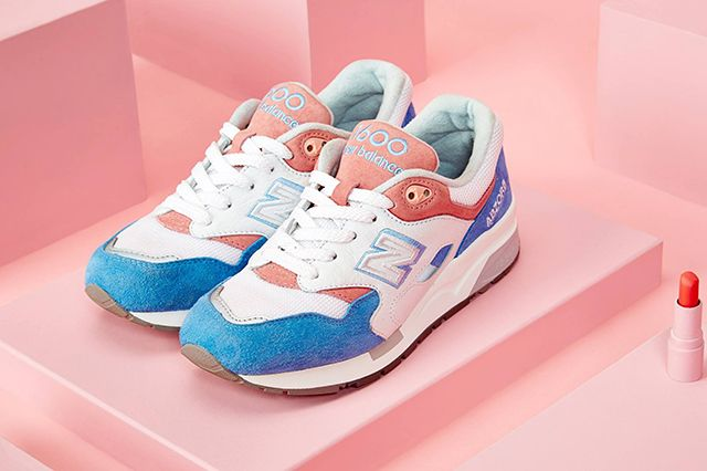 New Balance 1600 Marshmallow Blue Pink 2