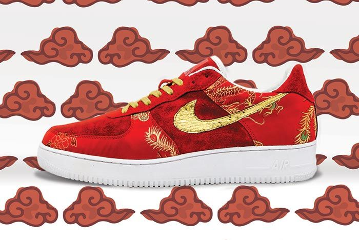 Ceeze Creative Studios Nike Air Force 1 Year Of The Pig Custom Left Shot