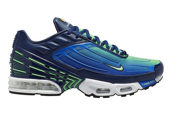 Nike Air Max Plus Iii Blue Green Right